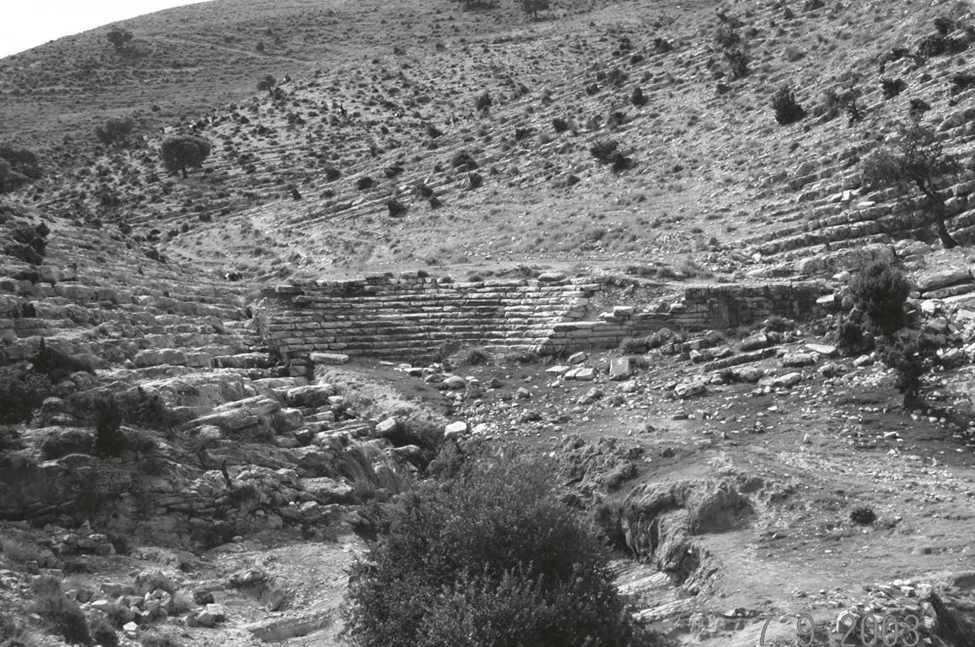 Le barrage antique d'Aï Jebour à Zama