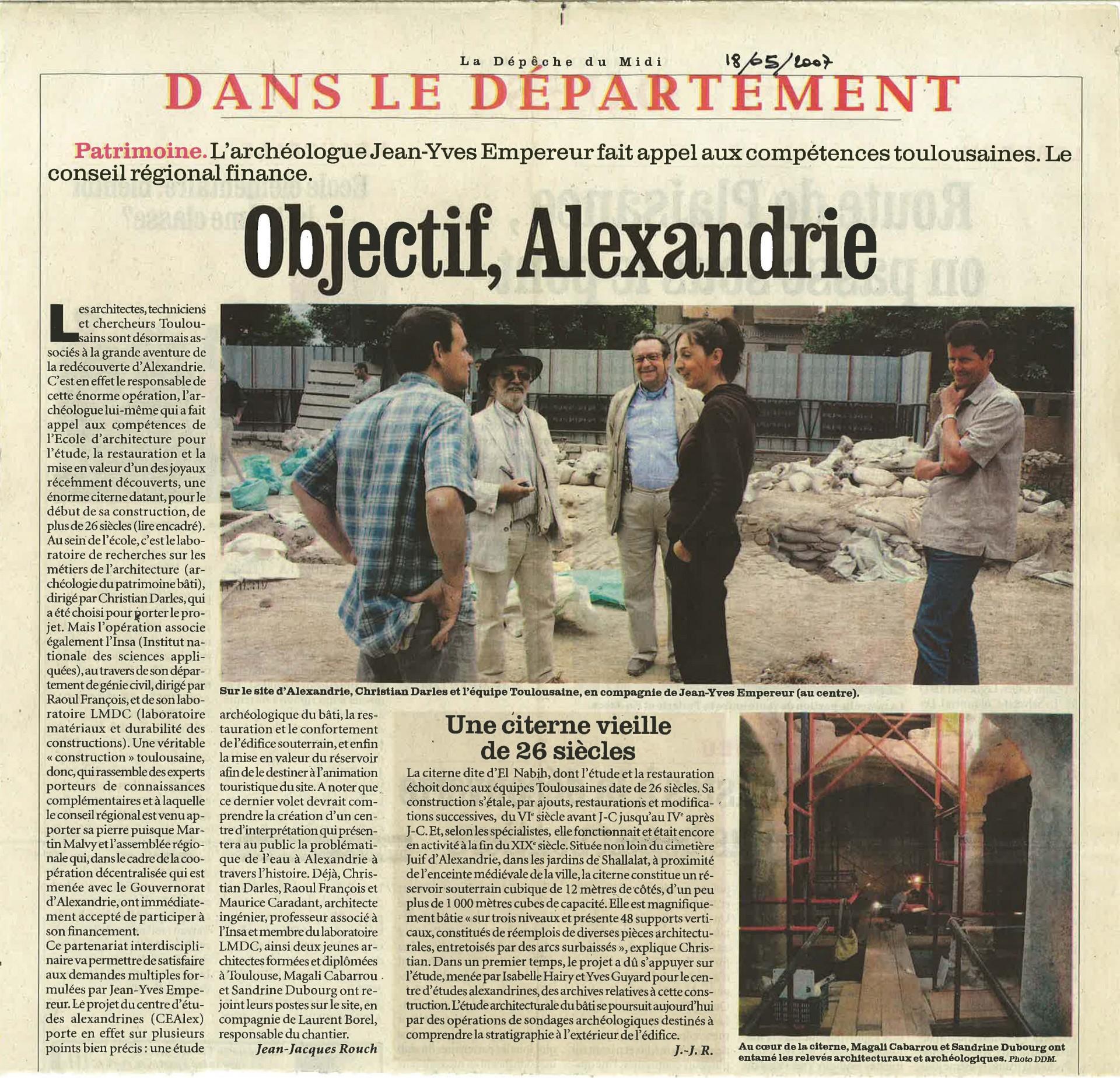 Objectif Alexandrie