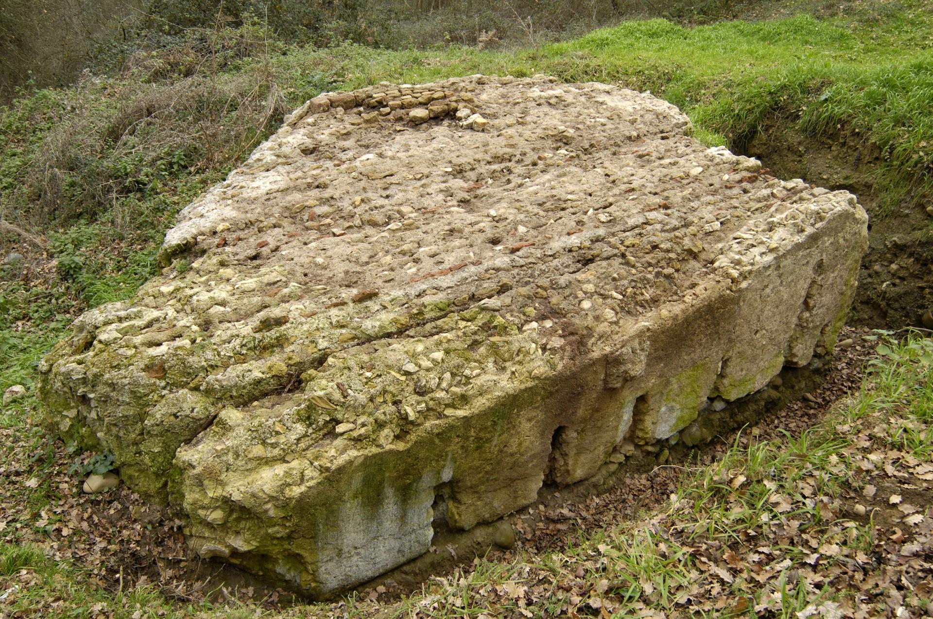 Fragment du rempart de Saint-Lézer
