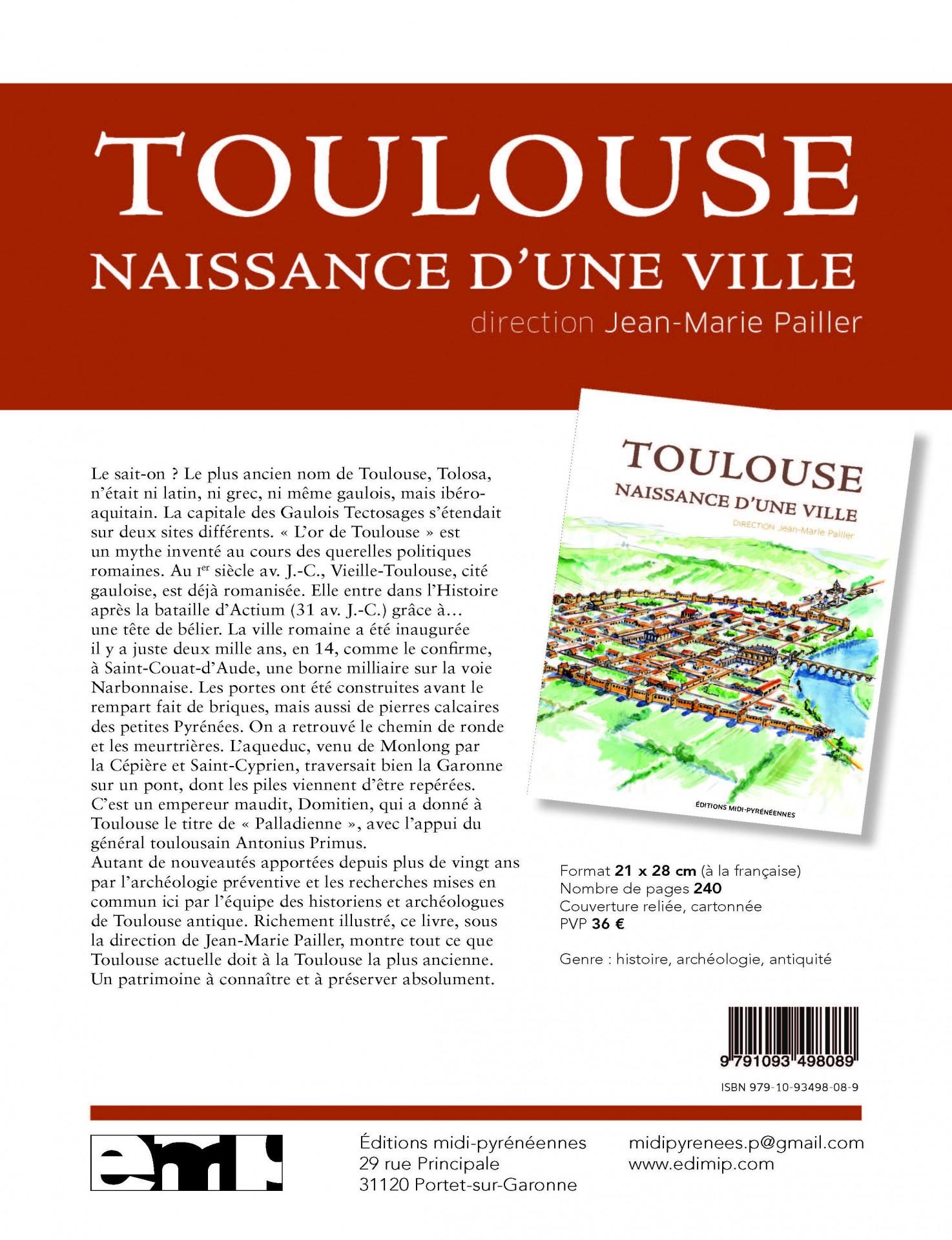 Toulouse, naissance d'une ville