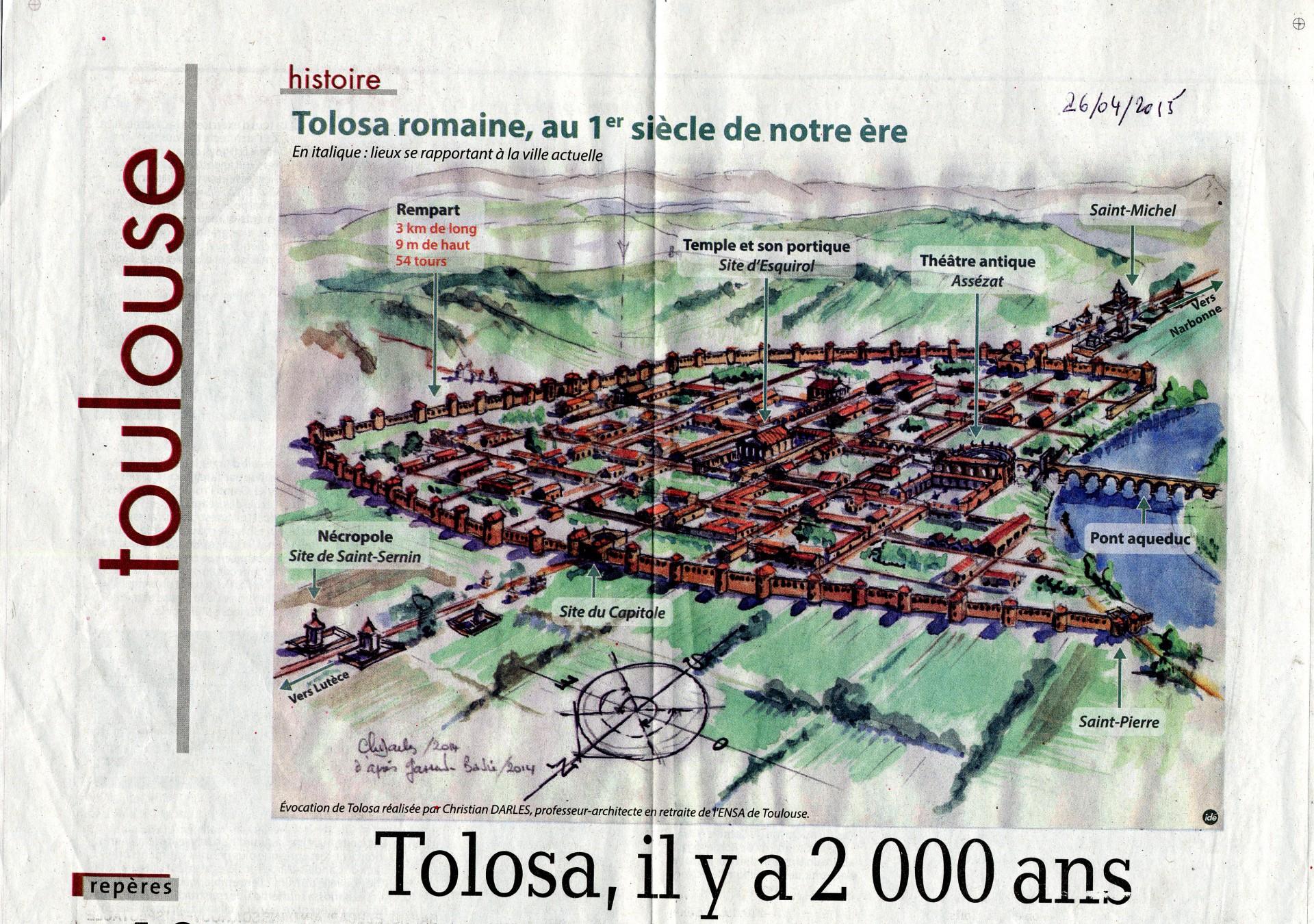 Tolosa, il y a 2000 ans