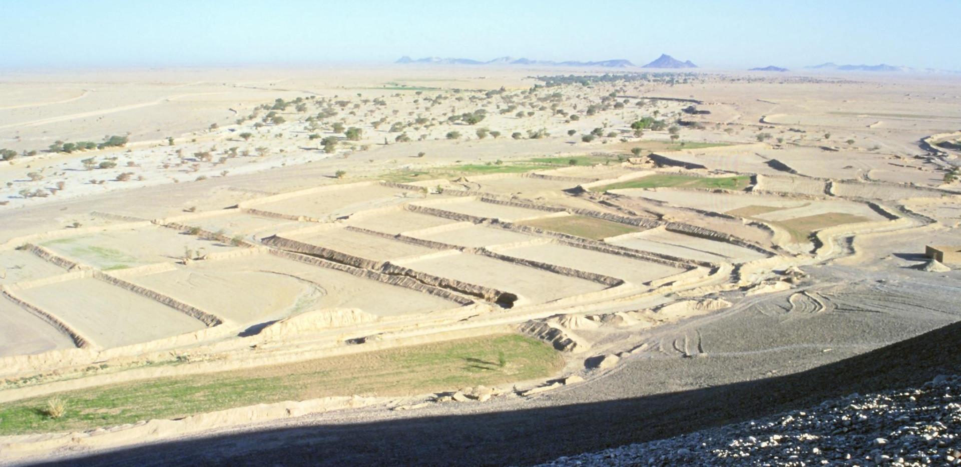 La transformation du paysage dans l'Antiquité de l'Arabie du sud