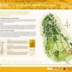 La Balade Archéologique de Saint-Lézer - panneau 1