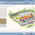 La Balade Archéologique de Saint-Lézer - panneau 2