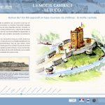 La Balade Archéologique de Saint-Lézer - panneau 5