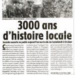 3000 ans d'histoire locale