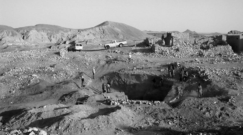 Chantier de fouilles au Yémen