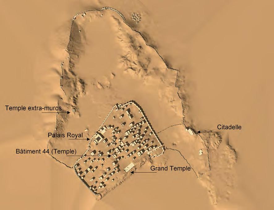 Plan du site de Shabwa