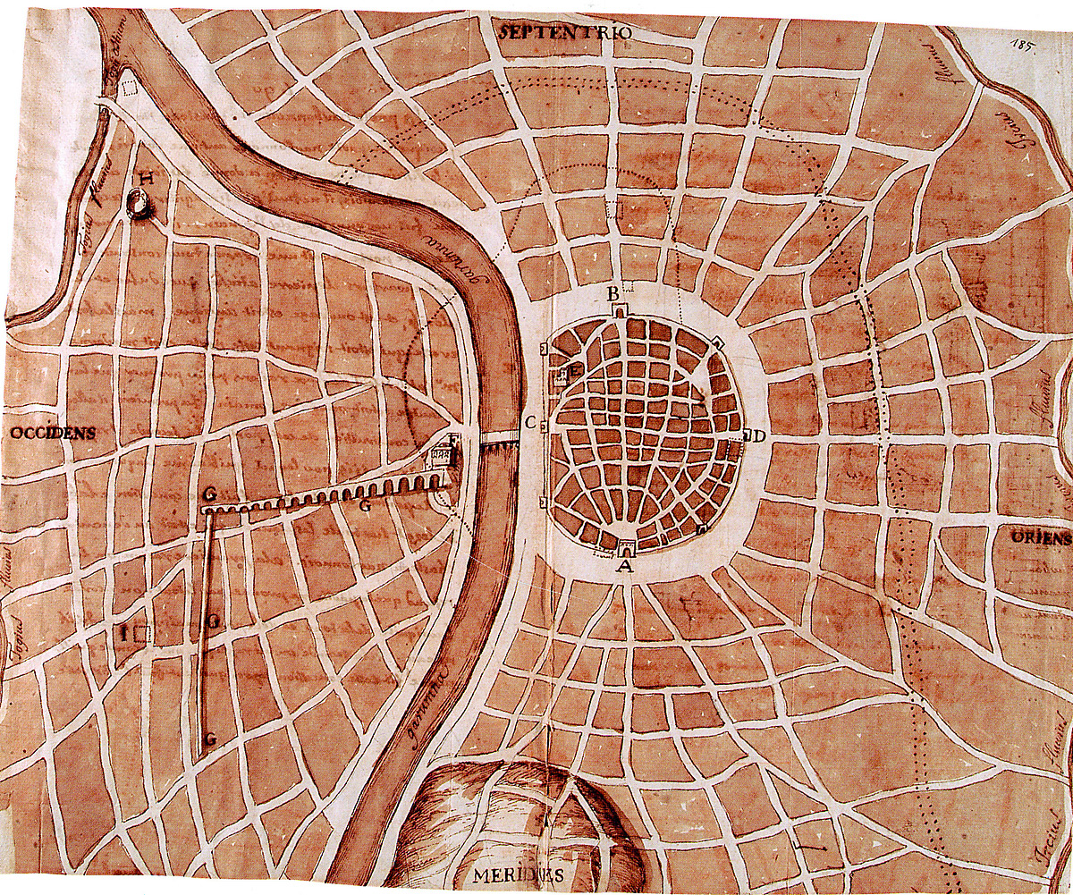 Plan de la ville de Tolosa