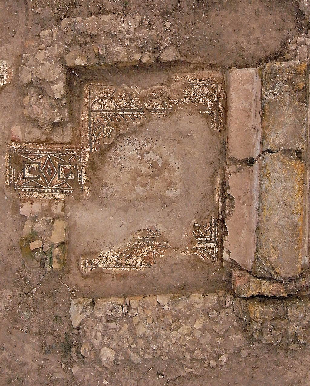 Thermes de Rirha - vue d'ensemble du caldarium