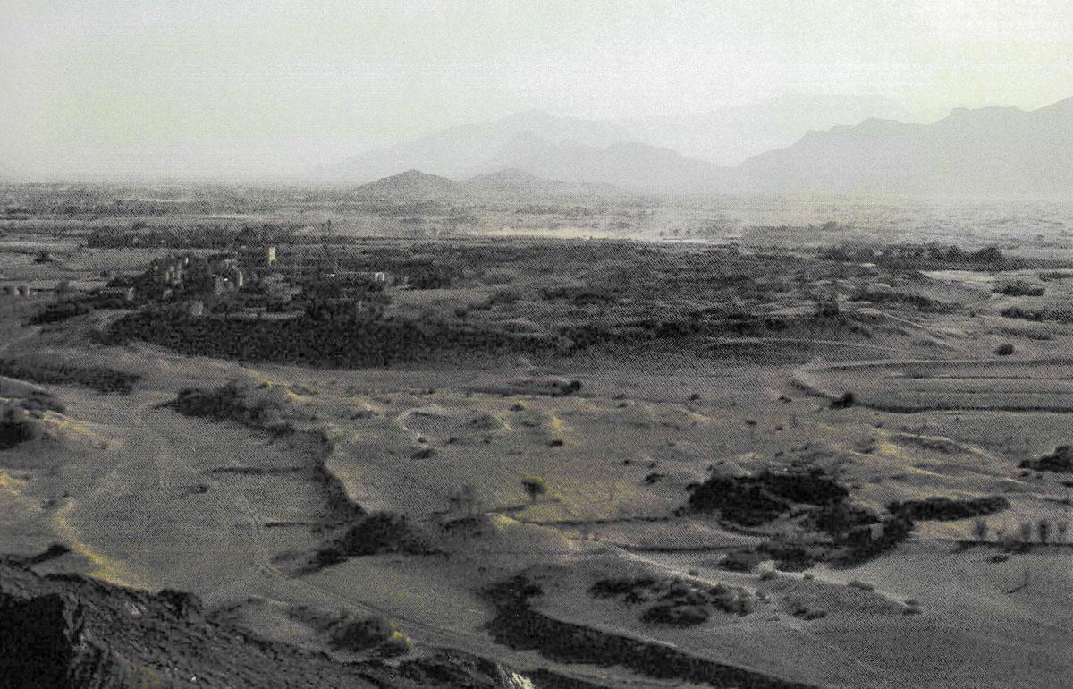Tamna, les fouilles Italo-Françaises